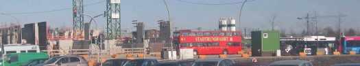 der Bus für die Touristen