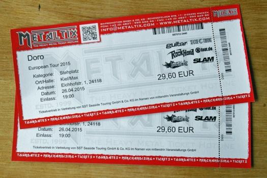 Doro Eintrittskarten