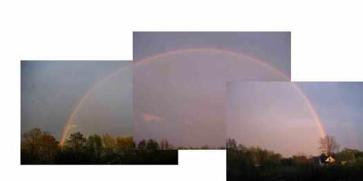 Regenbogen - so schöne Farben