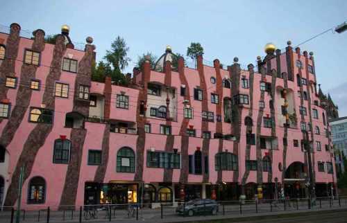 Hundertwasser Haus die grüne Zitadelle
