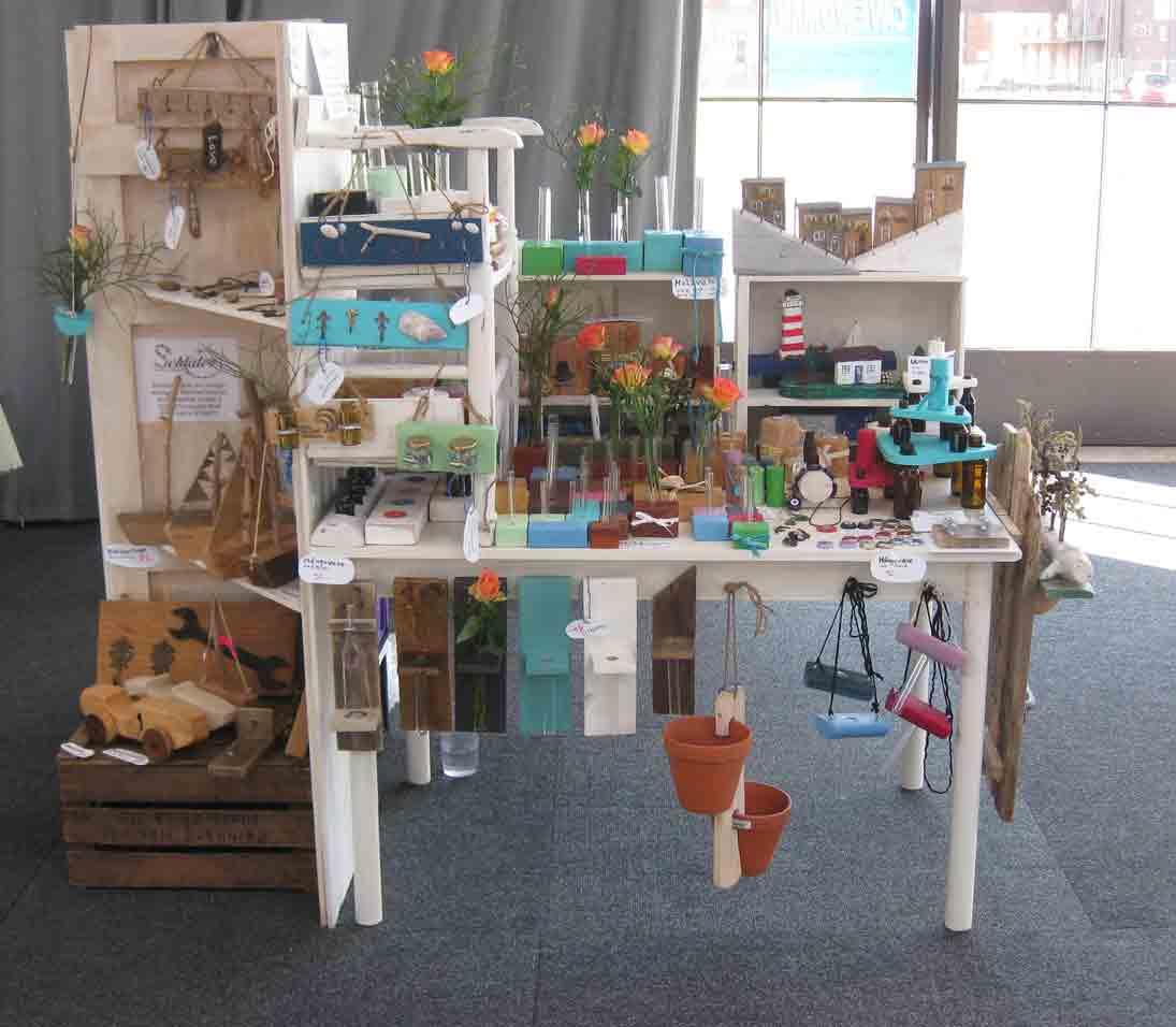 unser Angebot auf dem Kunsthandwerkermarkt