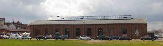 schöne Markthalle in Wismar