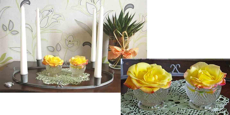 deko ideen mit rosen recyclingkunst und der versuch langsam und nachhaltig zu leben. Black Bedroom Furniture Sets. Home Design Ideas