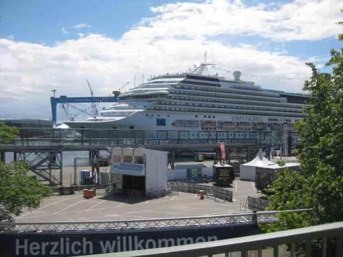 Costa zur Kieler Woche 2015