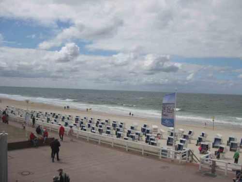 Sylt Strand Strandkörbe und mehr