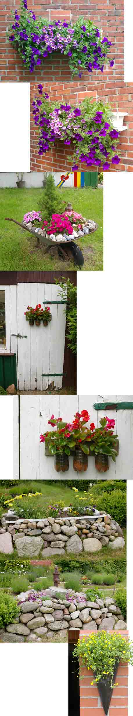 Gartendekorationen