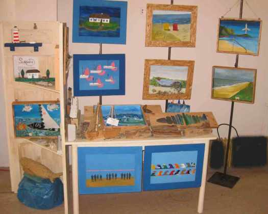 Verkaufsstand Meldorf Kunsthandwerkermarkt