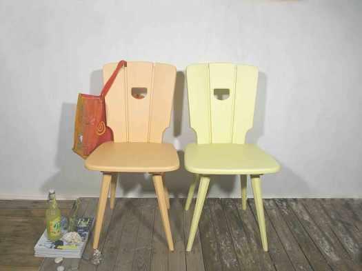 Stuhl-2-Fach-gelb-front