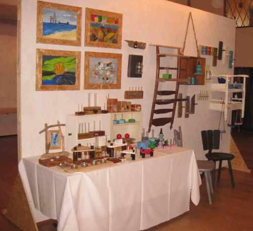 Kunsthandwerkermarkt in Dellstedt