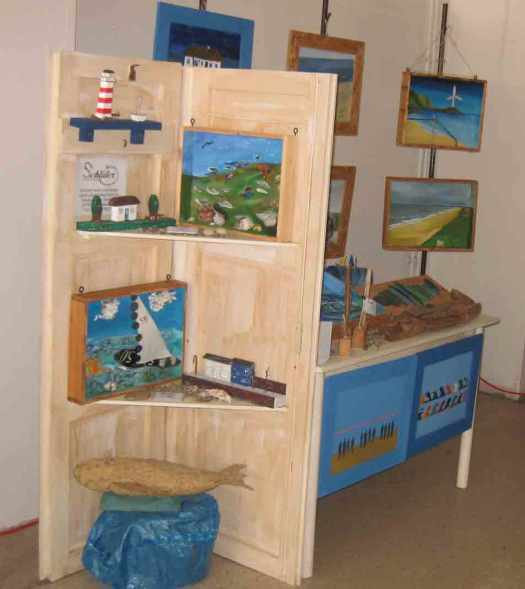 Verkaufsstand kunsthandwerk