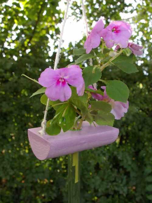 Blumenvase zum Hängen