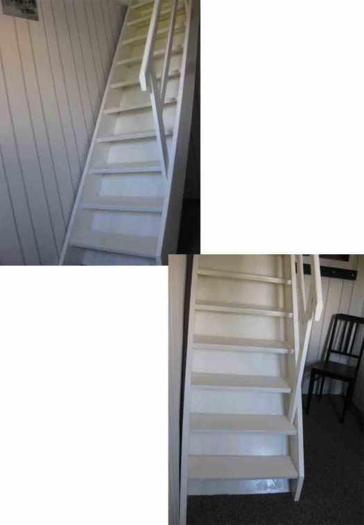 treppe weiss gestrichen