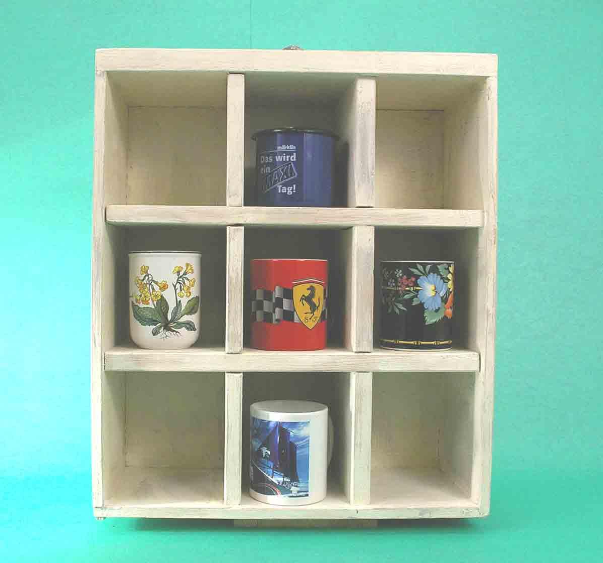 upcycling schublade wird regal recyclingkunst und der versuch langsam und nachhaltig zu leben. Black Bedroom Furniture Sets. Home Design Ideas