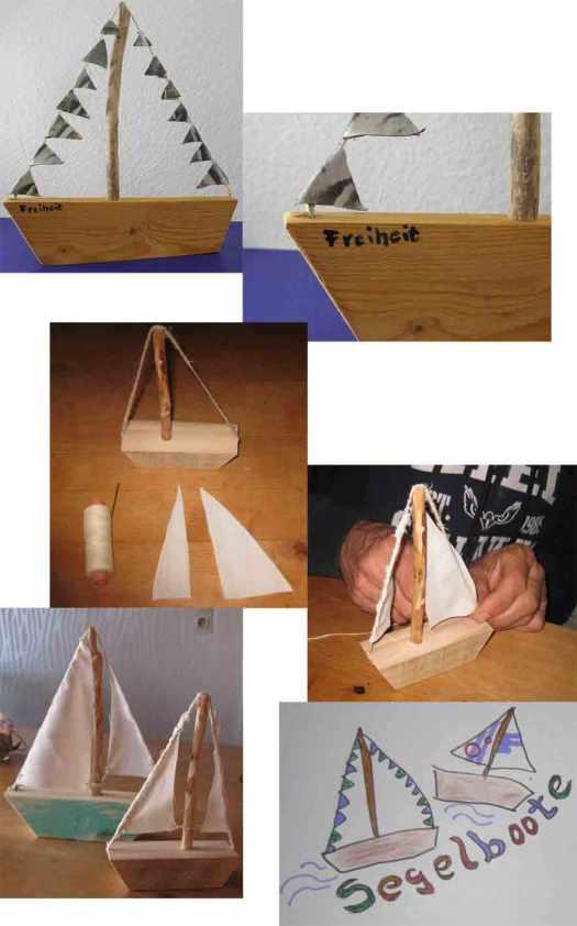 Holzschiffe selbermachen