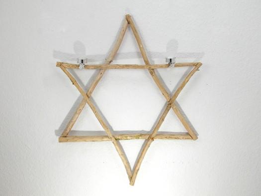 Stern aus Treibholz