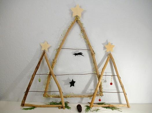 Weihnachtsbaum aus Treibholz