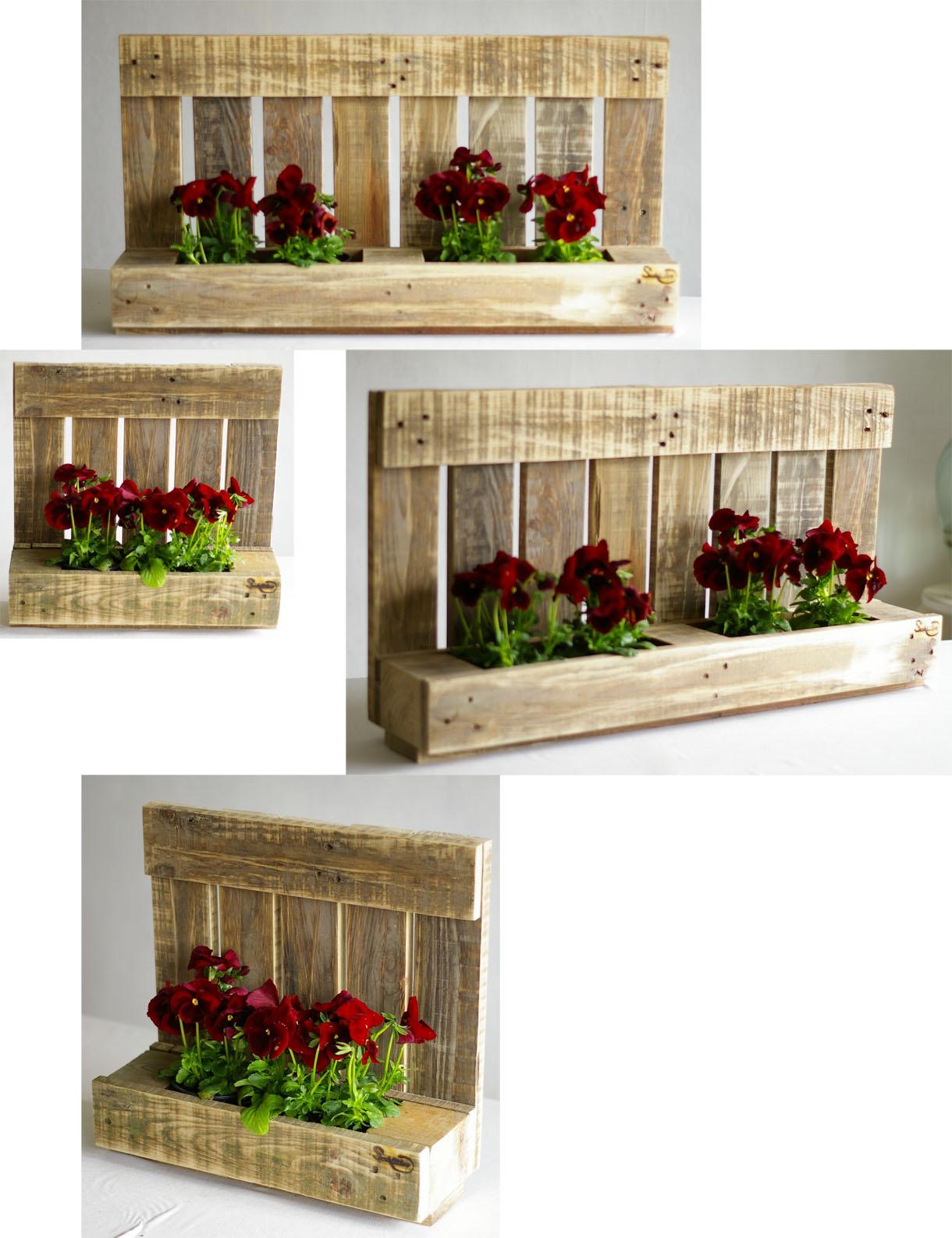 balkonkästen aus palettenholz, mauerpflanzen und ein spaziergang in