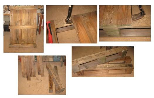 Palettenholz weiterverarbeiten