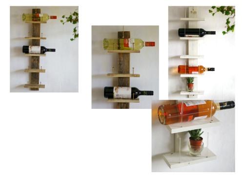 Weinregal aus Palettenholz selber bauen