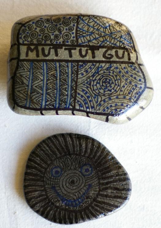 selbermachen lackierte Steine