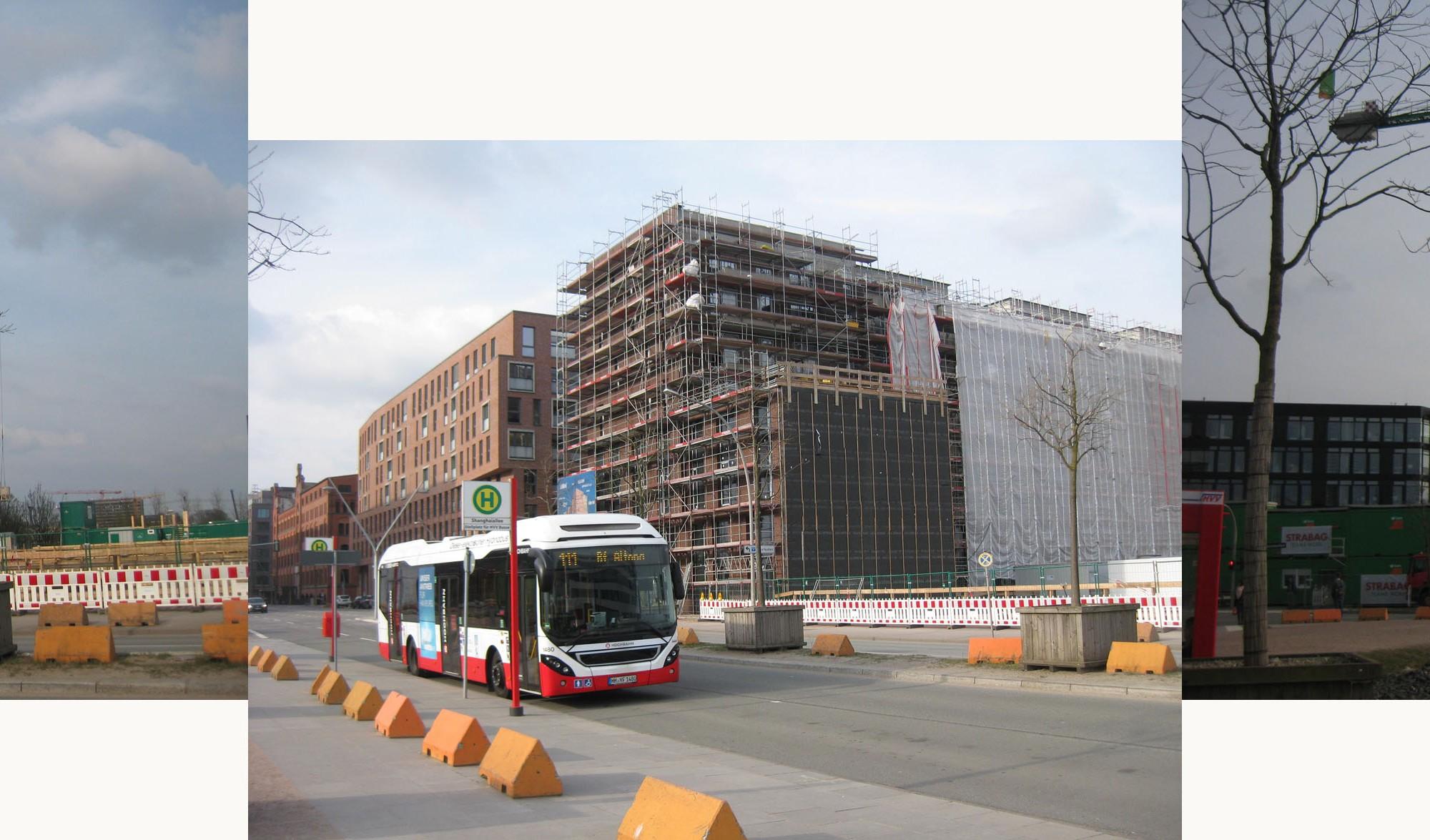 Baustellen in der Hafencity