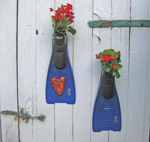 upcycling fuer den Garten