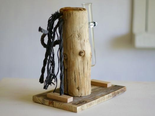 Treibholz mit Seil