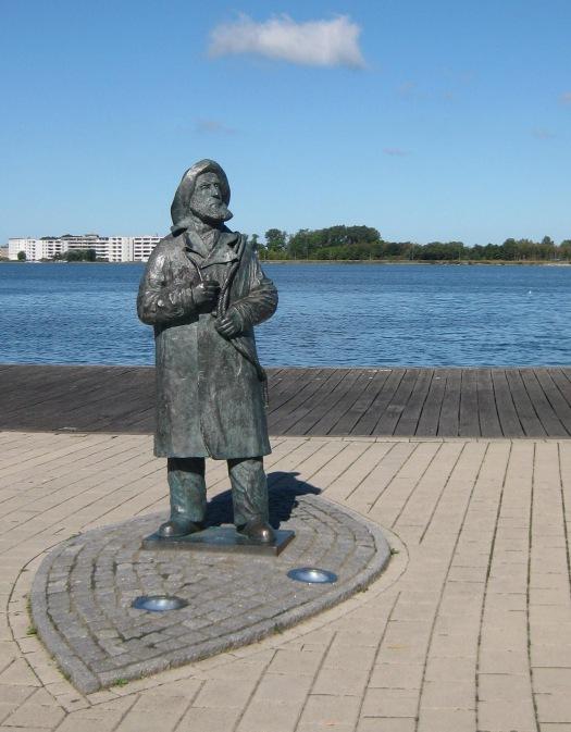 Bronzestatur in Heiligenhafen