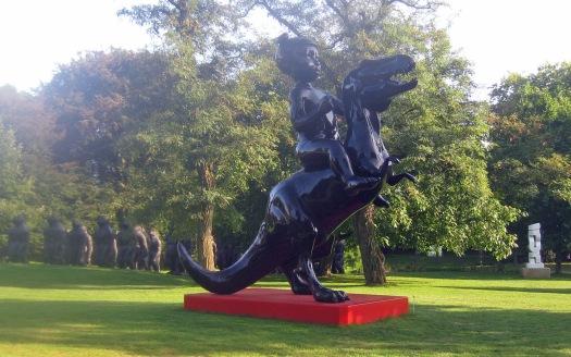 Skulpturenpark auf der NordARt