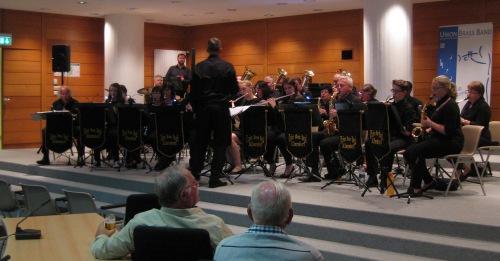 aus albersdorf die Union brass band