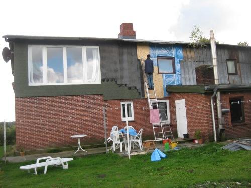 ERneuerung der Fassade