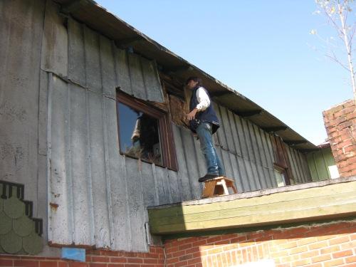 Dämmung der Hausfassade
