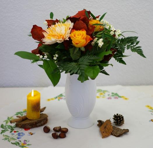Blumenstrauss herbst