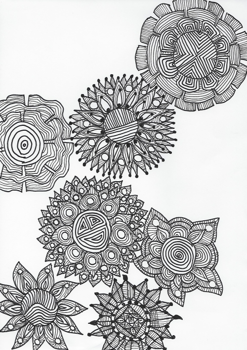 grafische Muster