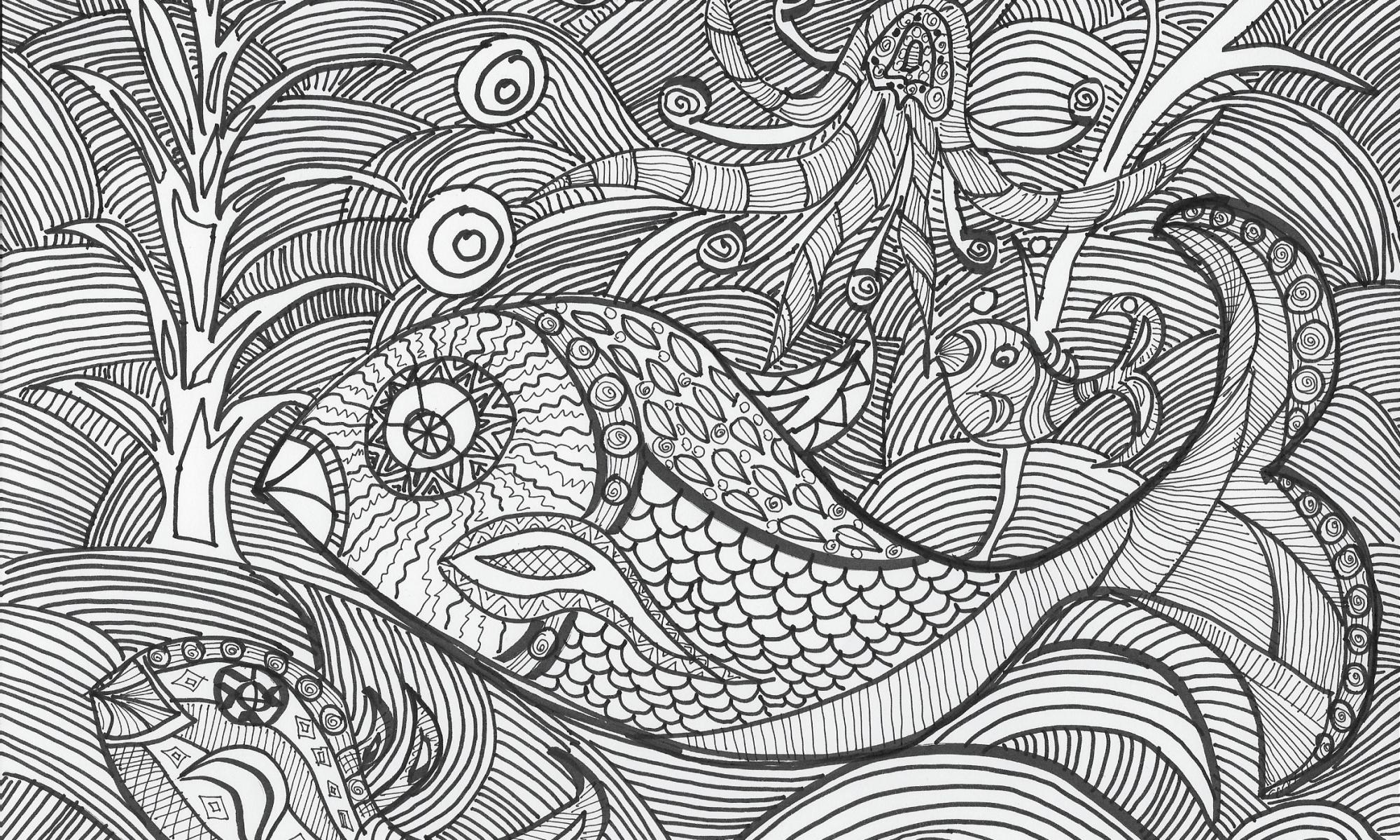 zeichnen fische