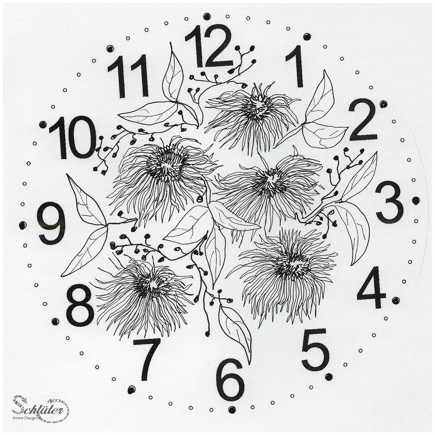 Ziffernblatt für Uhren zum selberbasteln