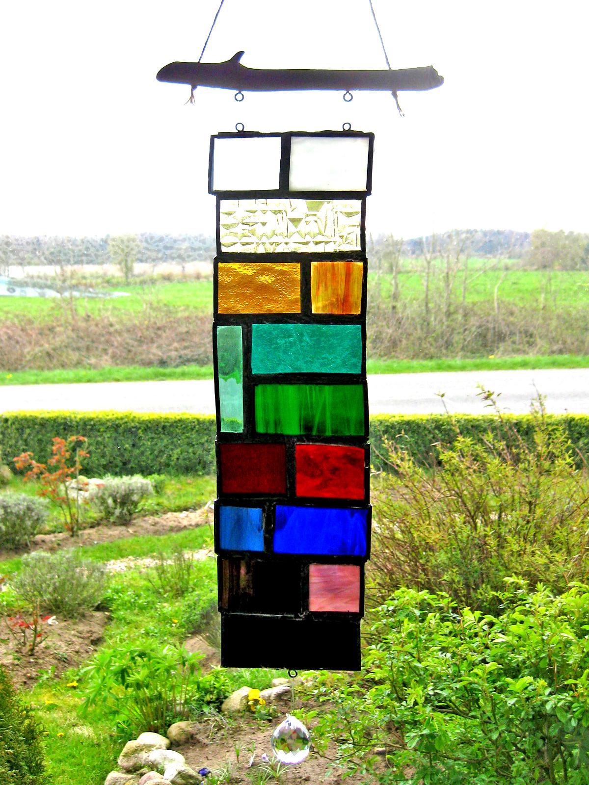 Fensterbild aus Tiffanyglas