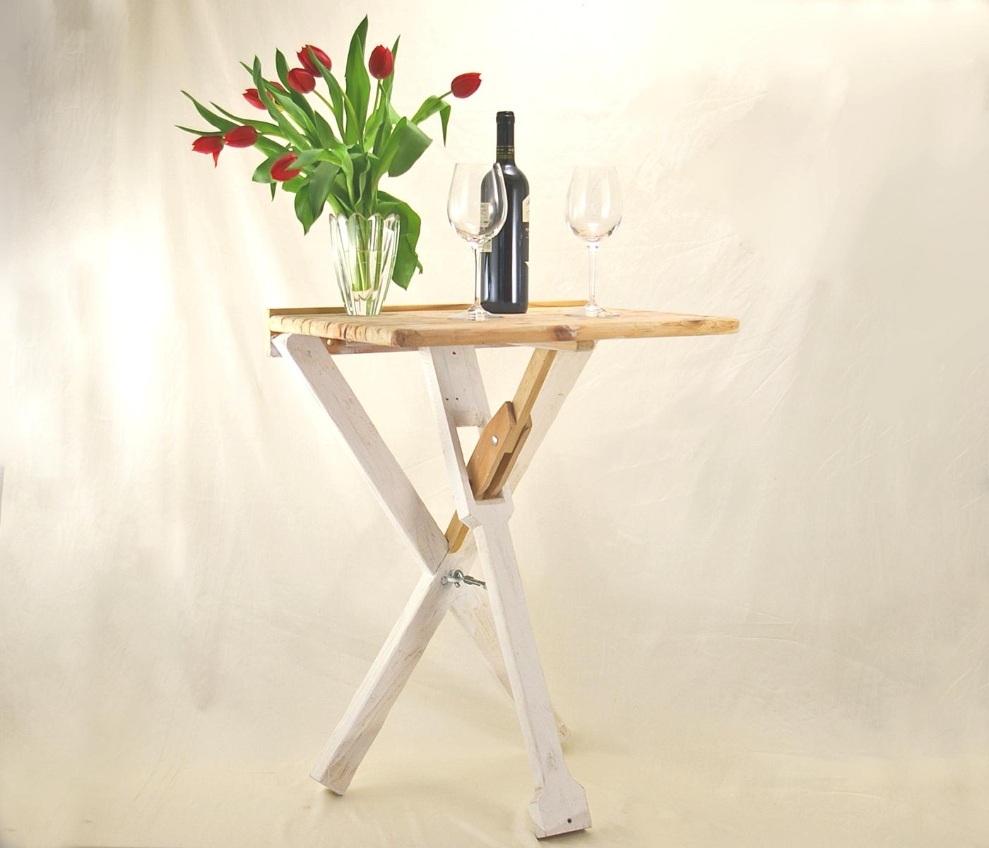 upcyclingmöbel, tisch, kleiner tisch, nachhaltige möbel, schlueterhomedesign