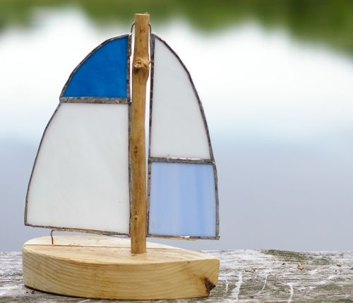 Boot zum hinstellen