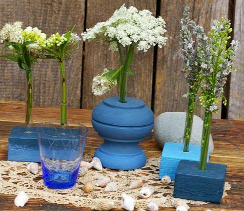 diy Vasen aus Holz