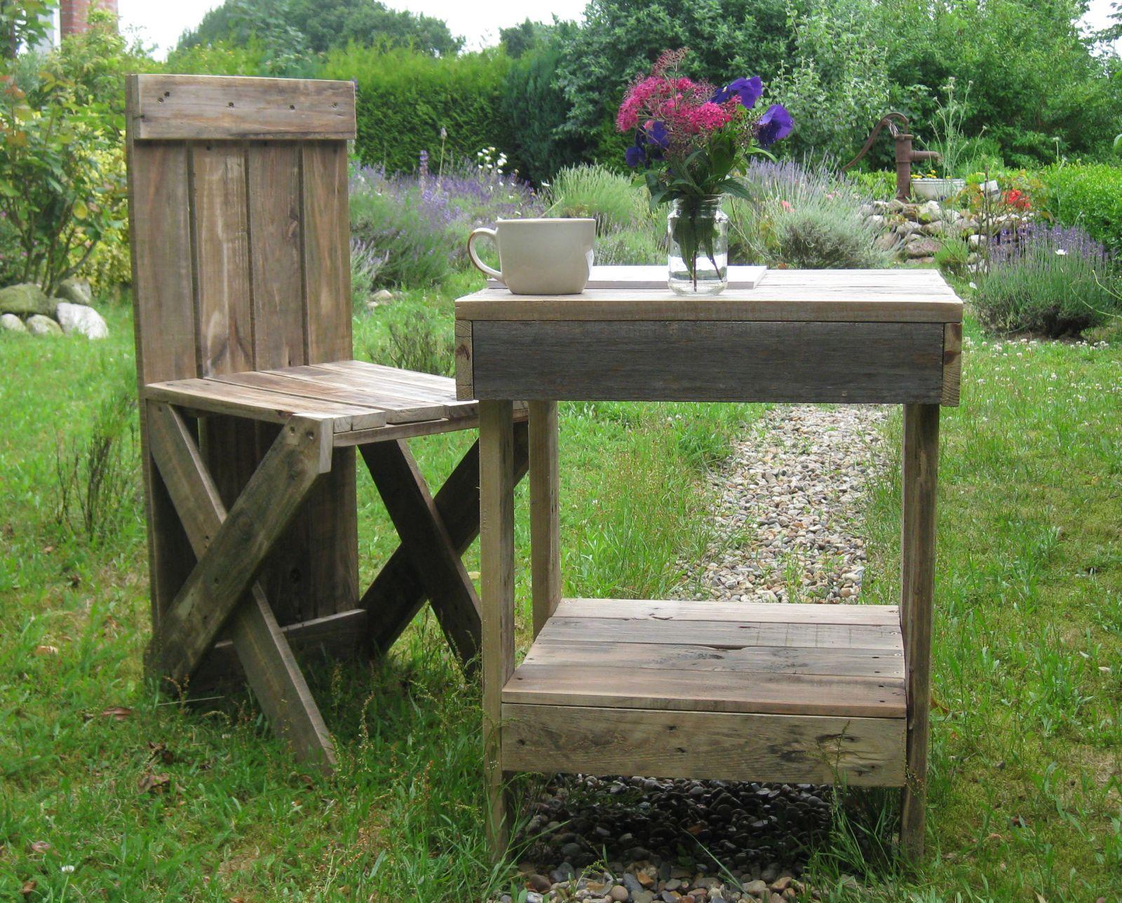 Palettenholz Gartenmöbel