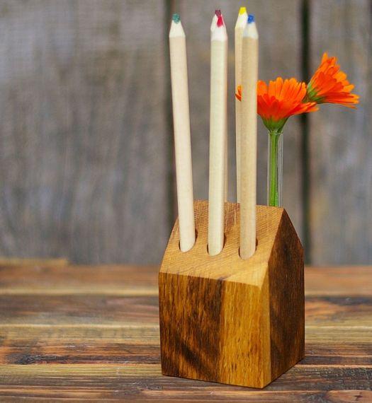 Stifteständer aus Holz