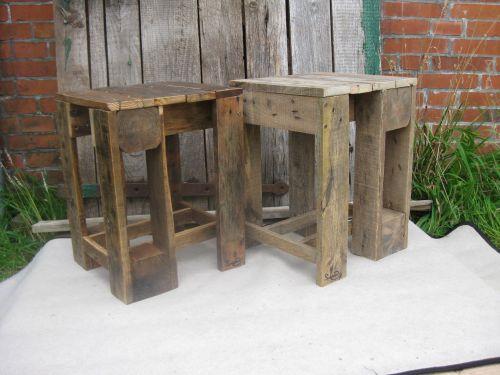 diy Hocker aus Palettenholz