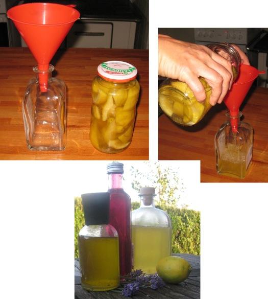 Zitronen-Essigreiniger selbermachen