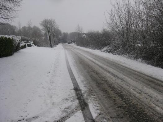 dithmarschen im Schnee