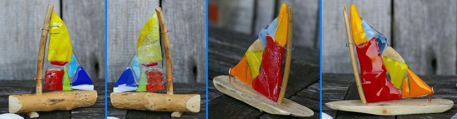 Glassegel für Segelboot