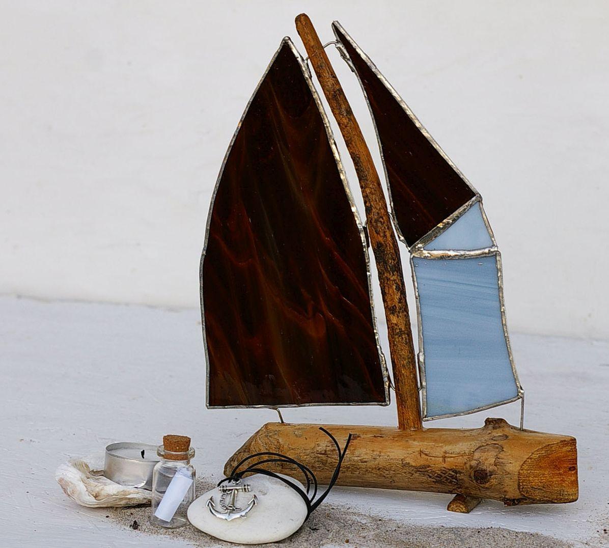Segelschiff als Geschenke Set