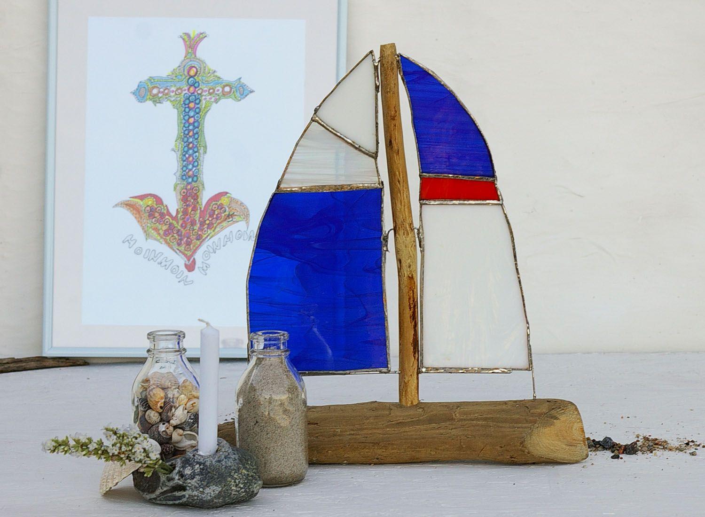 Treibholz segelschiff