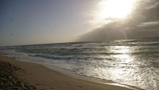Sylt Wellen und Strand