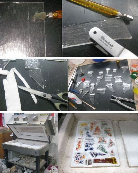 Glasschmelzen Anleitung für Kettenanhänger